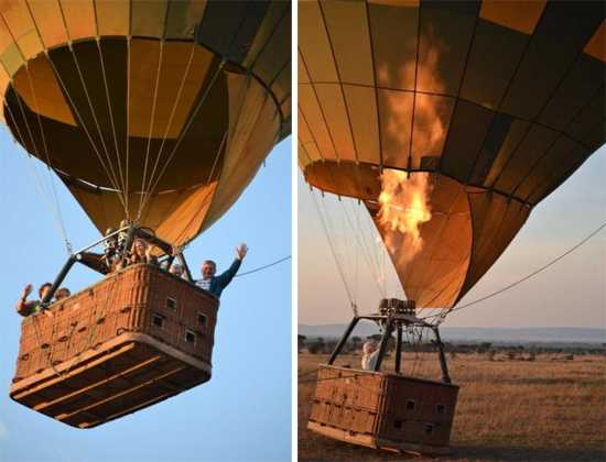 Hot air ballooning with Singita in the Grumeti
