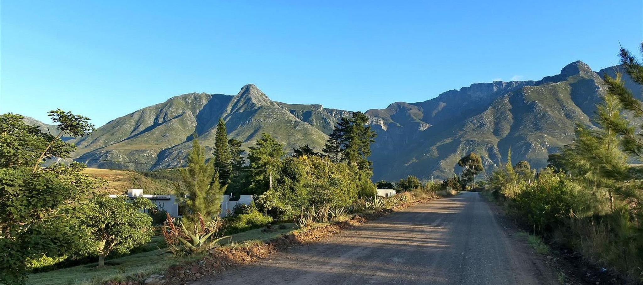 Panorama Of The Mountains Swellendam