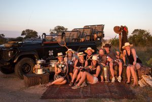 Our Rhino Travel Experts on educational at Londolozi