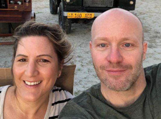 Rhino Africas Reiseberater Jan Suhr und Julia Grass auf einer Reise durch Afrika
