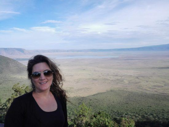 Julia Grass in Ostafrika