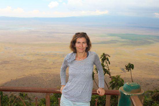 Manuela in Ostafrika