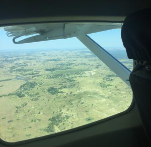 Botswana from the air