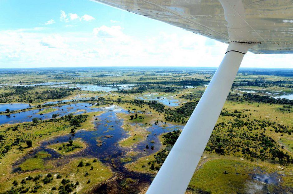 Reiseziele für Abenteurer wie das Okavango Delta in Botswana