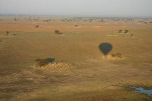 Hot airballoon ride in Zambia with Niki