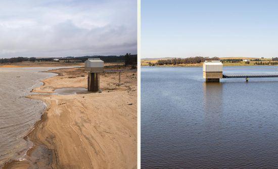 Wasser in Kapstadt aktuell: Theewaterskloof 2018 und 2020
