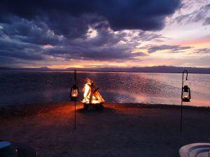 Chem Chem sunset with Glen in Tanzania
